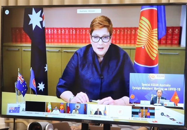 asean australia coordinate closely to develop covid 19 vaccines medicine